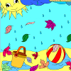 Kid`s coloring: Warm Autumn is free coloring game.