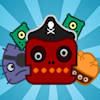 Blast all monsters off the ship. Place the tools and weapons strategically and blast them away. There are 25 levels, addicting game play and different monsters waiting for you. Drag the bombs and other weapons onto the ship. Create chain reactions and get rid of all the pirate monsters.