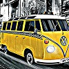 VW Camper Taxi A Free Puzzles Game