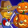 Scarecrow VS Pumpkin