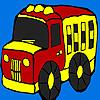 Cute truck coloring