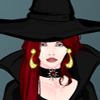 Dark witch dress up game