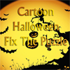 Cartoon Halloween Fix The Puzzle