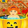 Halloween Baby Bathing A Free Dress-Up Game
