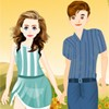 Holiday Couple Dressup A Free Dress-Up Game