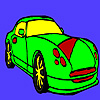 Fast popular car coloring