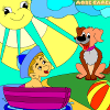 Kid`s coloring: Little friends is free coloring game.