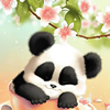 30 Pieces Sleepy Panda Puzzle