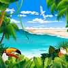 Tropical Animated Puzzle