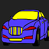 Large city car coloring