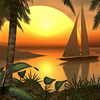 Tropical Landscape Puzzle