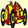 Yellow racing car coloring A Free Customize Game