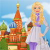 Barbie visits Moscow A Free Dress-Up Game