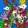 Zoo garden coloring