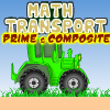 Math Transport Prime & Composite A Free Action Game