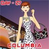 Melinda in Columbia A Free Dress-Up Game