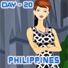 Melinda in Philippines A Free Dress-Up Game