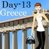 Melinda in Greece A Free Dress-Up Game