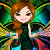 Psychedelic Angel A Free Dress-Up Game