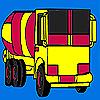 Big building truck coloring