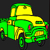 Fast yellow truck coloring A Free Customize Game