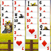 Have a lot of fun playing this addictive and the most popular variation of solitaire with attractive Japanese theme. Enjoy the awesome art style with such attributes of Japanese culture as blossom cherry, samurai and pagoda and be patient as real Japanese because this excellent card game requires your skill and patience to win! The goal of the game is to place all the cards in each suit in stacks of ascending order. Use your Freecells to manipulate the stacks. Lose yourself in the classic card game for hours on end!