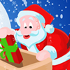 A challenging job at the Christmas! Here to help the Santa to give gifts to the kids. Catch the hanging gift item and serve it to the kids. To serve the gift item to a kid, click on the gift item and then click on the kids. Reach the goal in each level within the given time duration to play higher levels
