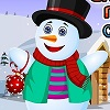 Snow Man Merry Christmas A Free Dress-Up Game