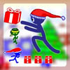 Stick Santa Gift Collect A Free Action Game