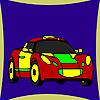 Best racing car coloring