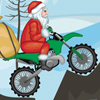 Santa On Motorbike