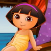 Dora at the Spa