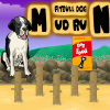 Pit bull Dog Mud Run A Free Action Game
