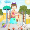New dress up free online game by Dressup-Games-Free.com Penny is going for a walk with her scooter. Dress up her stylishly! Choose clothes, shoes and accessories and drag it with the mouse to the girl, to take the object off just click at it with the left mouse button. Is Penny ready? Click Finish and enjoy!