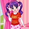 New Year Cutie A Free Dress-Up Game