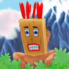 In this game you play as shaman Eko and your adventure starts now! Your goal is to pass many challenging levels with best time you can get. From each level player can get stars for completing level, getting secret star and perfect time, which unlocks new skills and levels. The further you go, the more challenging levels are and gets funnier and funnier.