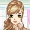 Amelie is a busy air stewardess. Help her to maintain her appearance by giving her a facial work. Give the girl a complete makeover by choosing your favorite makeup color, select an outfit and pick a glittering jewelry to complete the look.