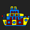 Weird little ship coloring
