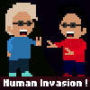 Human Invasion ! A Free Action Game