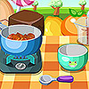 Today I found a delicious recipe that can be cooked in just a few minutes!  Sticky Toffee Pudding it's a perfect dessert for any occasion because it's easy to make and is full of flavors.  So let's see how we can prepare it in this cooking game.  You need to follow the indication in the game and pay attention at the ingredients you use.  During this game you will discover your cooking skills and you will see that it's more fun to cook than you thought.  Let's see if you can handle this recipe: chop and mix the ingredients, bake the mixture and decorate a plate for this amazing dessert. Good luck!