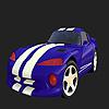 Speeder car coloring