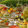 New colorful game for all fans of interesting puzzles and hidden object games by Free-Game-Planet.com. The wonderful autumn sunny day is the best time for the picnic. Its enough to cook the delicious food and to find a cozy glade. But you should do some more preparations. First of all look for all forks scattered on the table-cloth. Then find and take away all objects in the list. And at last try to spot ten differences between two similar pictures of the picnic. Have a nice relaxing game!