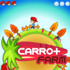 On unique platform try to protect you`re carrot farm from wild animal