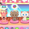 Mario has opened a new pet salon. He is a lucky Boy. The very first day he got many pets coming to his salon. Mario alone can't manage the salon. He needs your friendly co-operation to manage the Salon.Enjoy the day with pet shop management.