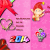 New Year Greeting A Free Customize Game