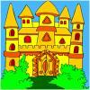 Fantasy Castle Coloring