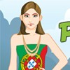 Peppy Patriotic Portugal Girl A Free Dress-Up Game