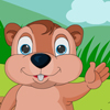 Happy Groundhog Day! Here a cute groundhog has come out from its burrow, lets give him a funny look with the given dresses and other accessories. Wish and welcome this cutest groundhog to celebrate groundhog day.