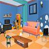 Blue Puzzle Room Escape