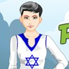 Peppy Patriotic Israel Girl A Free Dress-Up Game